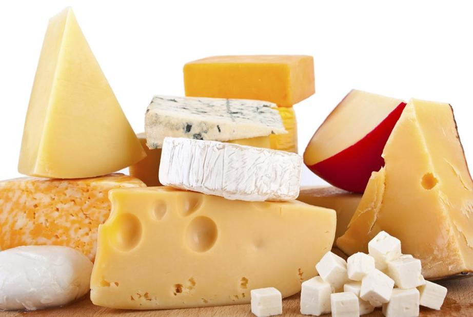Types of cheeses
