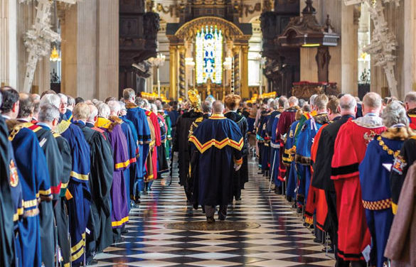 The livery companies of the City of London