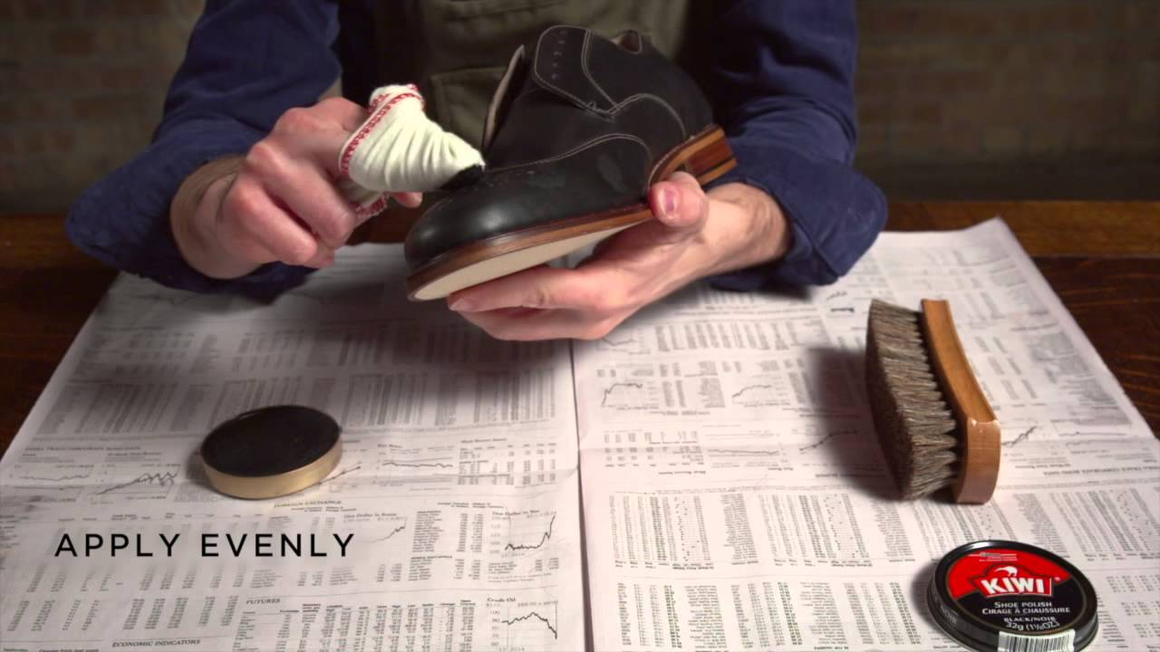 How to Spit & Polish Shoes